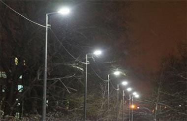 Полторы тысячи новых светильников уличного освещения установят в Нижнем Тагиле до конца года
