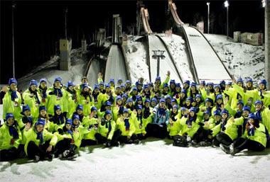 Требуются волонтёры на этап Кубка мира по прыжкам с трамплина, который пройдет на горе Долгая 9-11 декабря