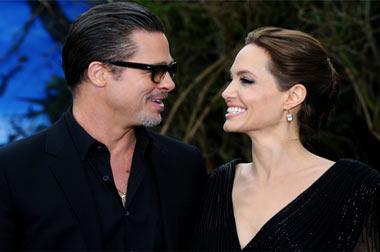Брэд Питт и Анджелина Джоли делят детей