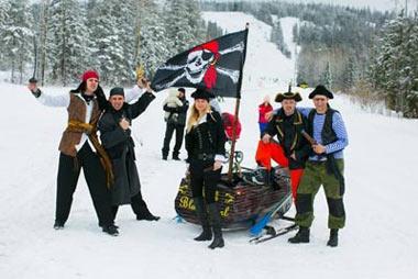В воскресенье будет открыт зимний сезон на горе Белой