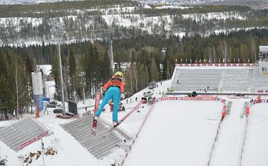 В Нижний Тагил прибыли летающие лыжницы сборной Канады