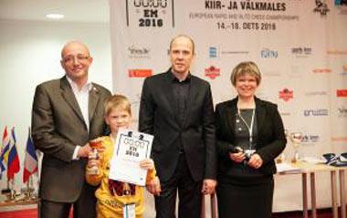 Титул чемпиона Европы по быстрым шахматам завоевал Володар Мурзин