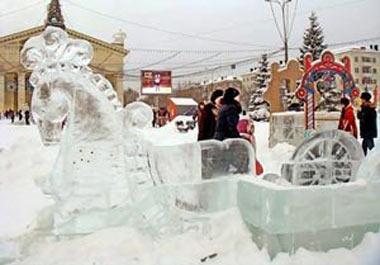 Открытие елки на Театральной площади и елок в районах города Нижний Тагил