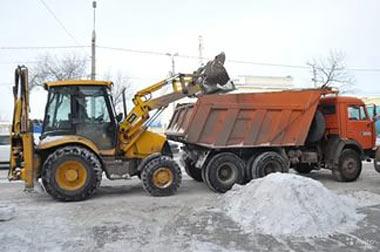 С улиц Нижнего Тагила вывезен рекордный объём снега