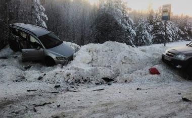 В ДТП под Красноуфимском погибла девушка