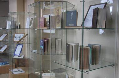 Пушкинская выставка открылась в фойе Центральной библиотеки