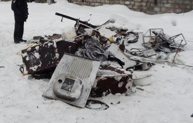 В гаражах на Лебяжке прикрыли нелегальную скупку металла