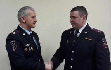 Новым начальником ОП №16 стал подполковник Зайцев