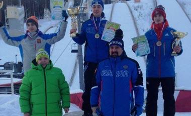 Вадим Шишкин стал вторым на этапах Кубка России по прыжкам на лыжах с трамплина
