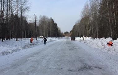 Министр транспорта области проконтролировал ход работ на автодороге