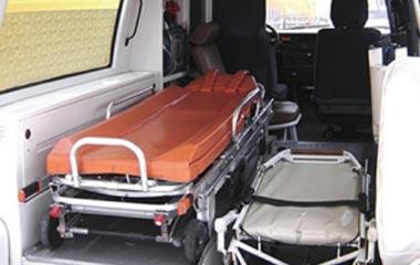 Особенности безопасной перевозки лежачих больных автотранспортом