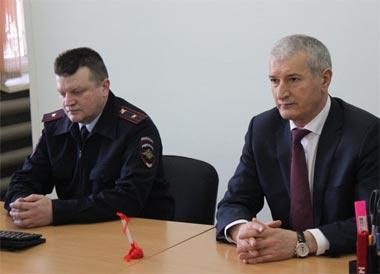 Полковник Абдулкадыров представил нового начальника РЭО ГИБДД