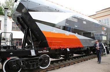 УВЗ приступил к производству инновационного вагона-хоппера