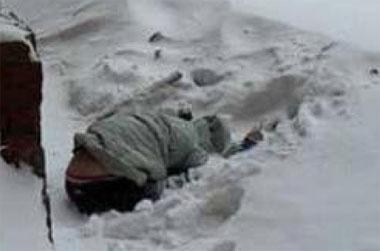 Тагильчанин убил приятеля и спрятал тело в снегу