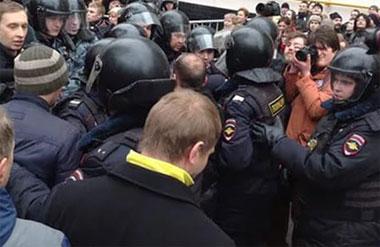 ГУ МВД Свердловской области напомнило сторонникам Навального об ответственности за незаконные акции