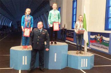Тагильчанка стала сильнейшей на соревнованиях МЧС в Тюмени