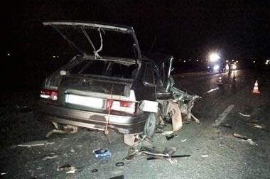В ДТП на Тюменском тракте погиб водитель и 6 человек получили травмы