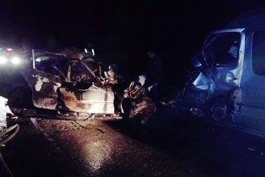 4 человека погибли в ДТП в районе посёлка Ачит Свердловской области