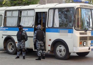 В Нижнем Тагиле на улицы вышли полтысячи полицейских