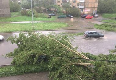Ураган в Нижнем Тагиле 3 июня 2017 года