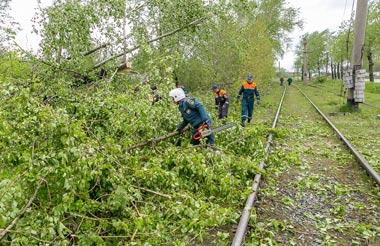 Сергей Носов рассказал о ликвидации последствий урагана в Нижнем Тагиле