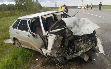 Под Петрокаменском в ДТП погиб пассажир ВАЗ-2112