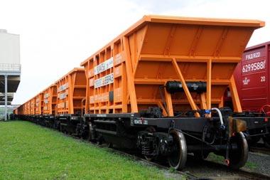 УВЗ отгрузил партию инновационных вагонов для ЕВРАЗа