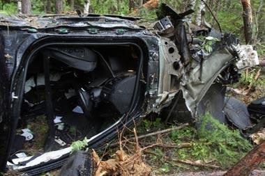 БМВ улетел с трассы под Нижним Тагилом: погибла девушка, трое ранены