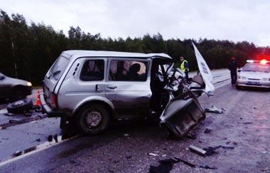 На пермском тракте в ДТП погиб водитель