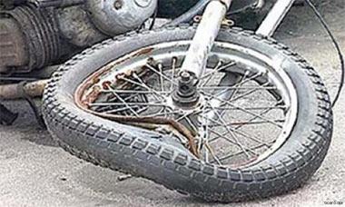 Бесправный рулевой мотоцикла