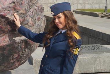 Девушка-офицер из Нижнего Тагила поборется за титул самой красивой в рамках конкурса