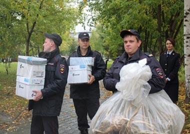В Нижнем Тагиле отправили в печь более 7 кг наркотиков