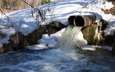 Канализационные стоки из Николо-Павловского попадают в реку Тагил