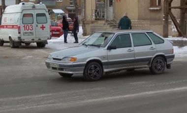 На Тагилстрое автоледи на ВАЗ-2114 сбила пешехода на