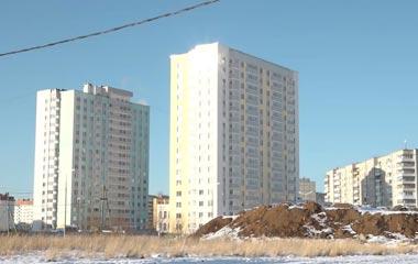 Депутаты гордумы оценили ход строительных работ в микрорайоне Муринские пруды