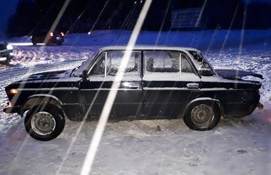 Hyundai Accent врезался в ВАЗ-2106 на трассе под Нижним Тагилом