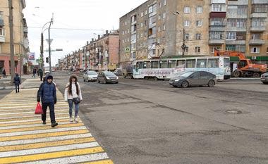 Закрыт для движения участок улицы Космонавтов от Фрунзе до Максима Горького