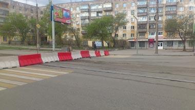Перекресток Космонавтов - Фрунзе обещают открыть для автотранспорта через неделю