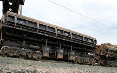 На УВЗ разработали новый вагон-самосвал