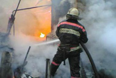 В садах на Ольховке во время пожара погиб пенсионер