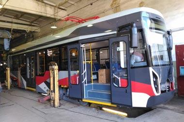 Инновационный трамвай будет проходить испытания в Нижнем Тагиле