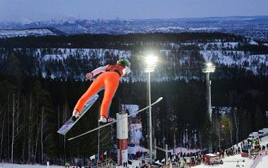 Нижний Тагил снова будет принимать лучших прыгунов с трамплина и двоеборцев