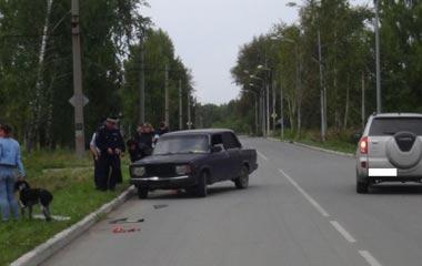 Школьница была сбита ВАЗом на Северном посёлке