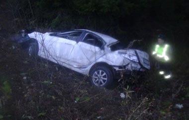 Семья тагильчан попала в ДТП на серовской трассе, погиб маленький ребёнок