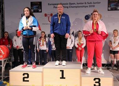 Представительницы Тагила завоевали медали чемпионатов Европы