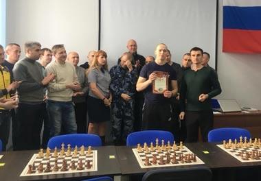 Бойцы Нижнетагильского ОМОН выиграли турнир по шахматам в рамках спартакиады