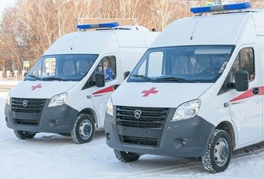 Станция скорой помощи получила 4 новых спецавтомобиля