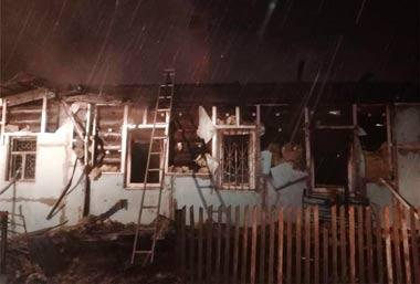 На Кирпичном сгорел частный дом: погиб хозяин жилища