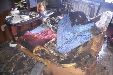 36-летняя женщина и её 3-летняя дочь погибли во время пожара на Кирпичном посёлке