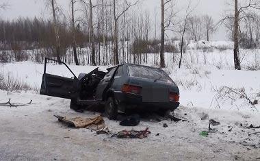 На трассе между Тагилом и Покровским столкнулись ВАЗ-09 и